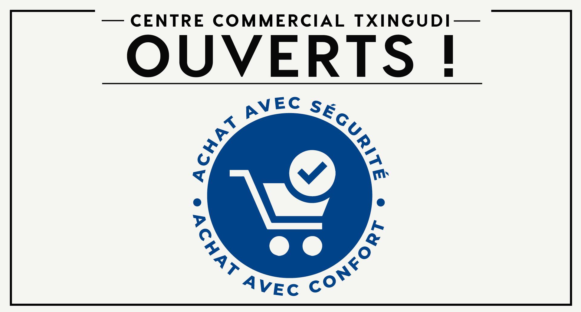 Le centre commercial Txingudi rouvre à partir du 25 mai