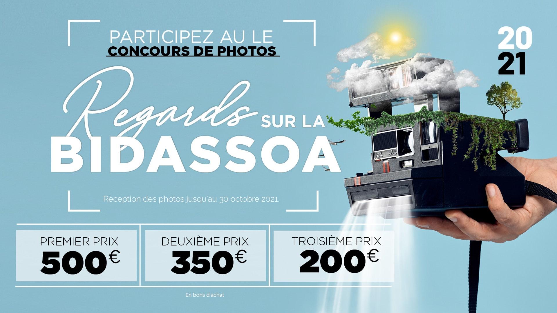 Participez au concours « Miradas del Bidasoa 2021 »!