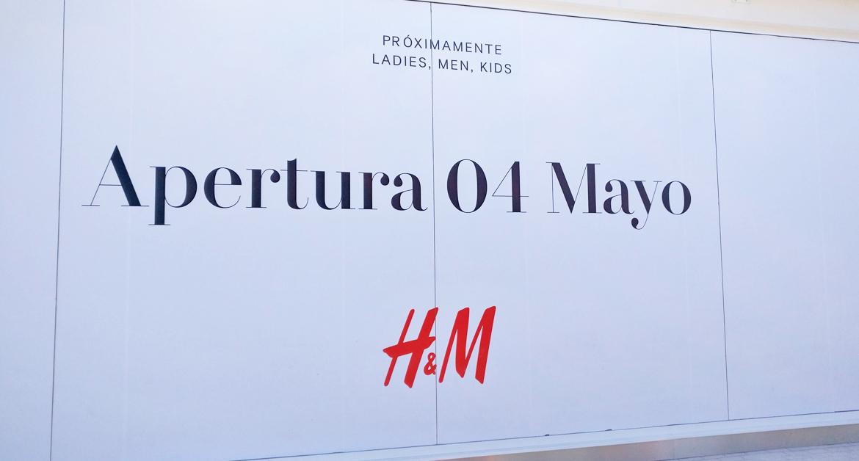 Nouvelle ouverture H&M