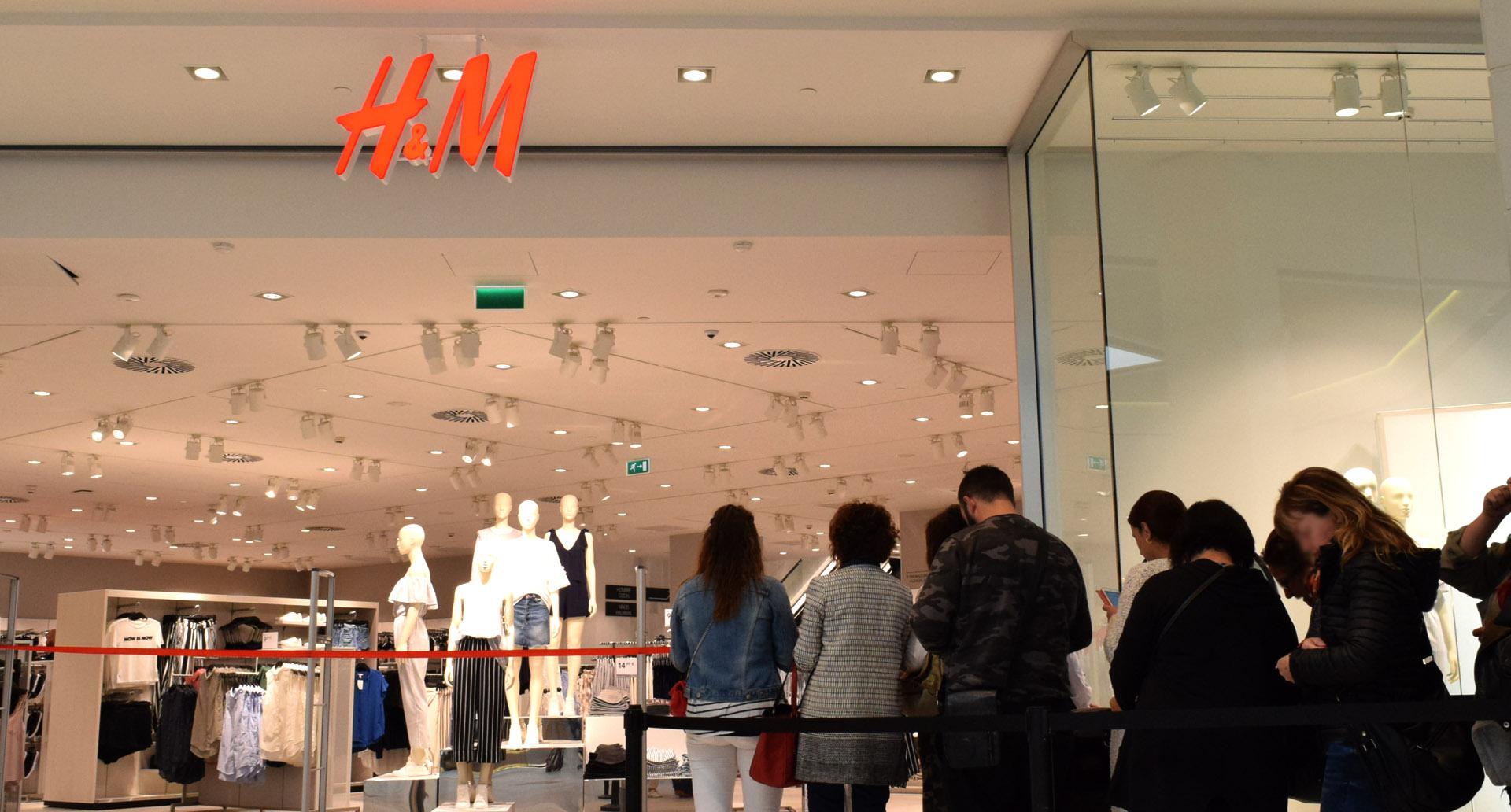 Nouvelle ouverture d'H&M dans le Centre Commercial Txingudi