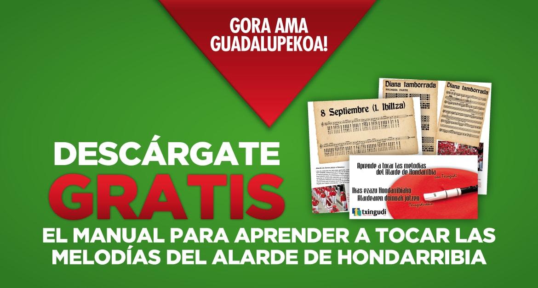 Descárgate GRATIS el manual para aprender a tocar las melodías del Alarde de Hondarribia