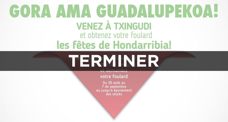 Venez à Txingudi et obtenez votre foulard les fêtes de Hondarribia !