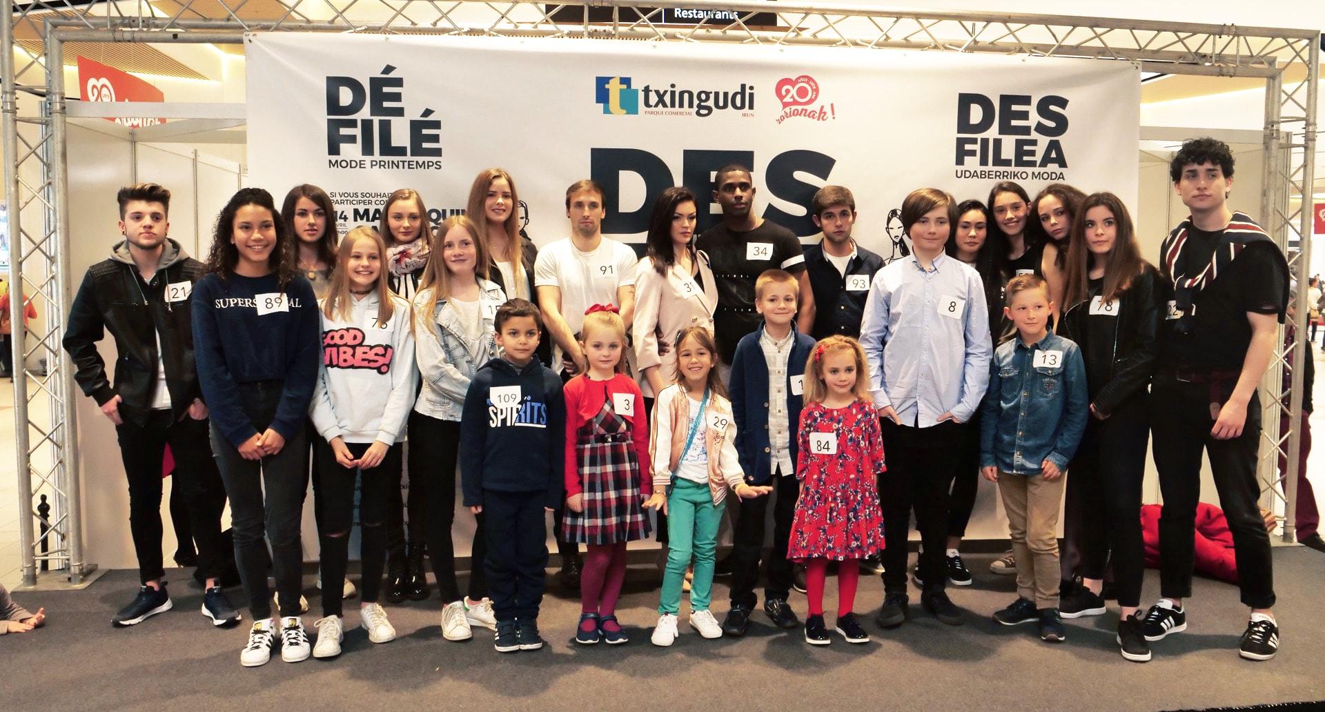 Voici les gagnants du casting pour le défilé de Mode Printemps de Txingudi !