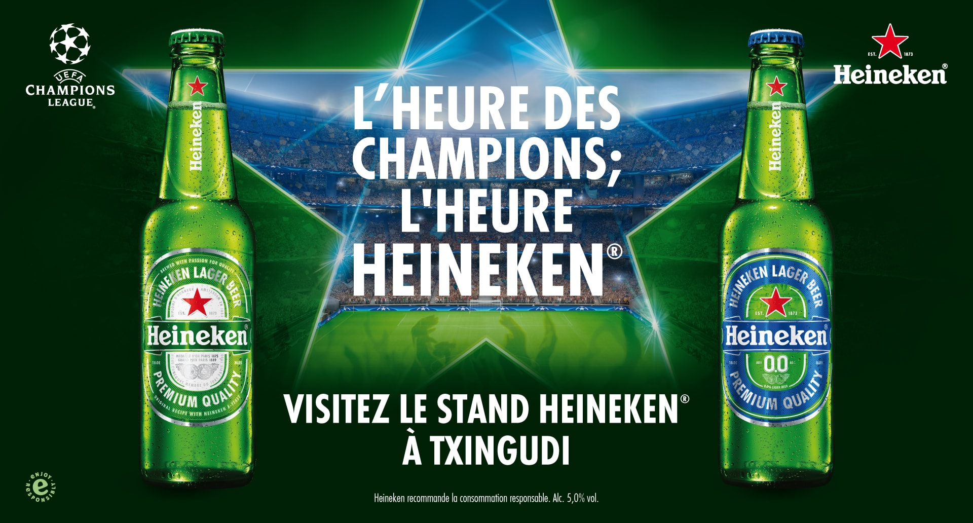 L'heure des Champions; l'heure Heineken