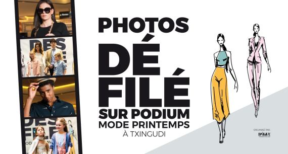 Photos défilé de mode printemps à Txingudi