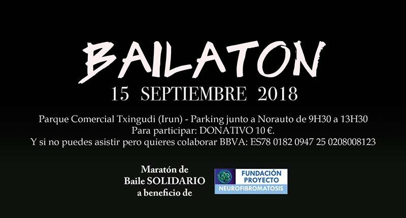Le 15 septembre, venez au Bailatón 2018 du Centre Commercial Txingudi