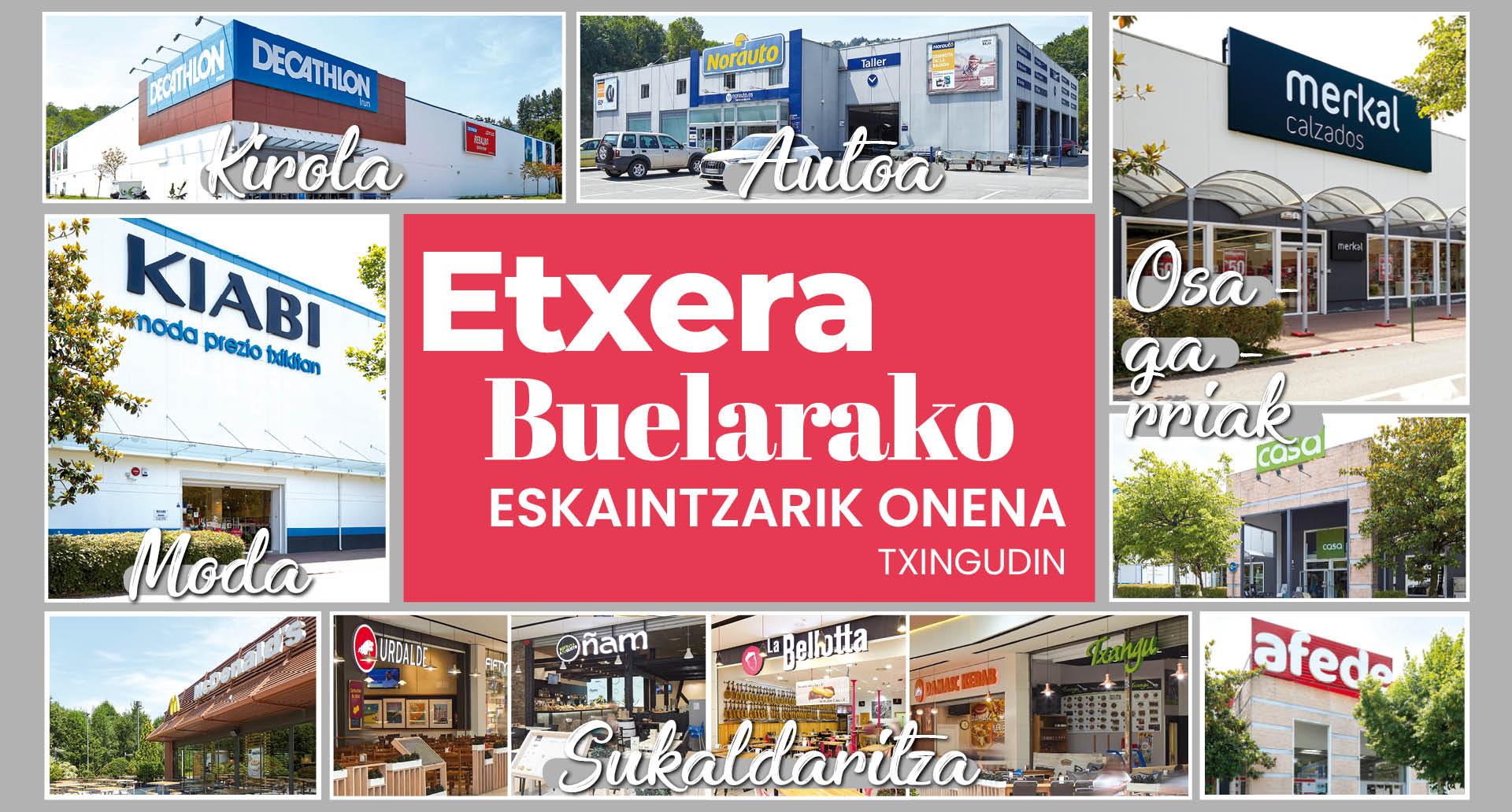 Etxera bueltarako eskaintzarik onena Txingudin