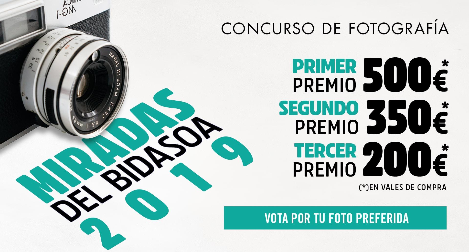 Ya puedes votar por tus fotografías favoritas del concurso Miradas del Bidasoa 2019