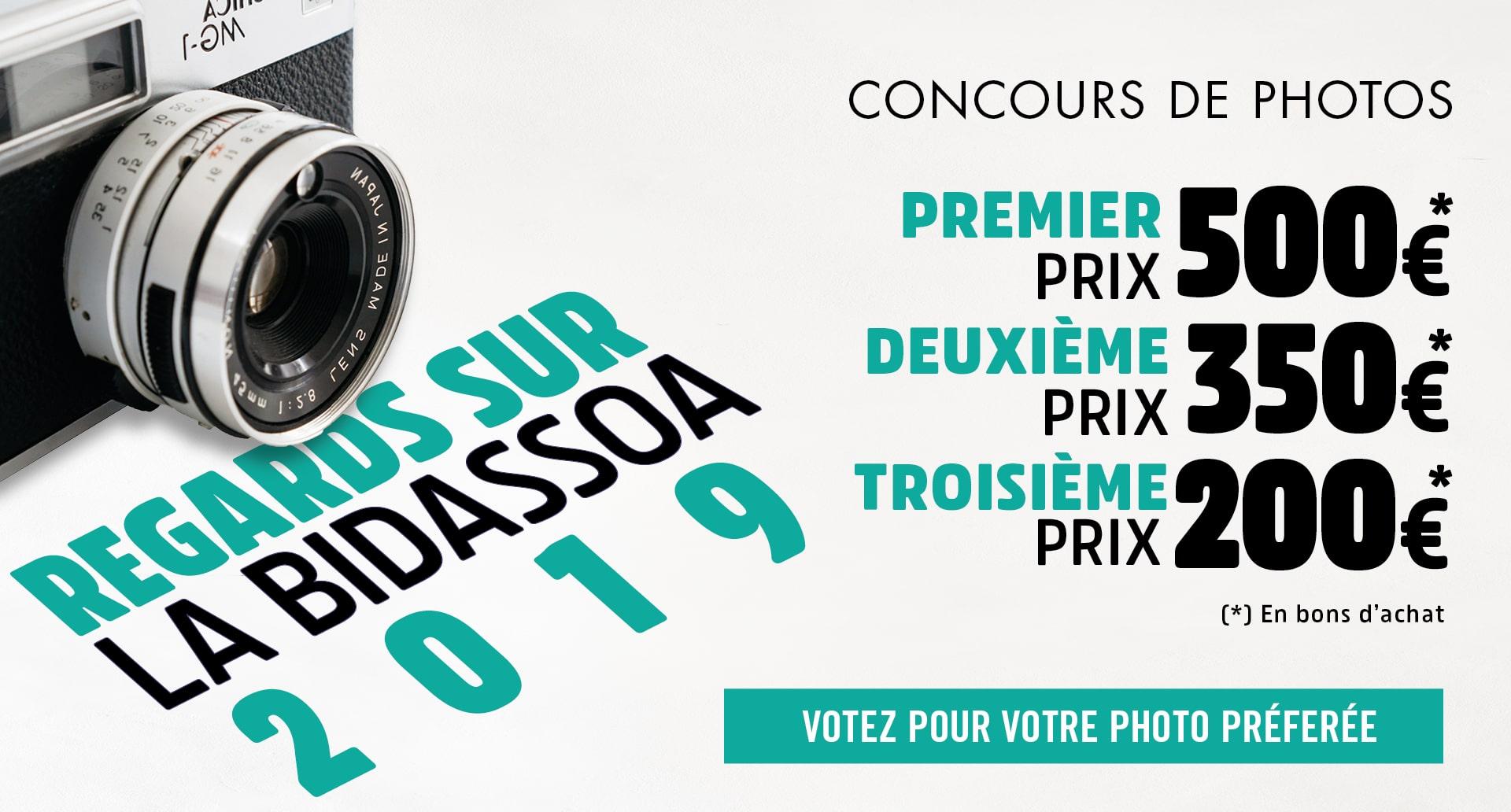 Vous pouvez voter dès maintenant pour vos photos préférées du concours Regards sur la Bidassoa 2019