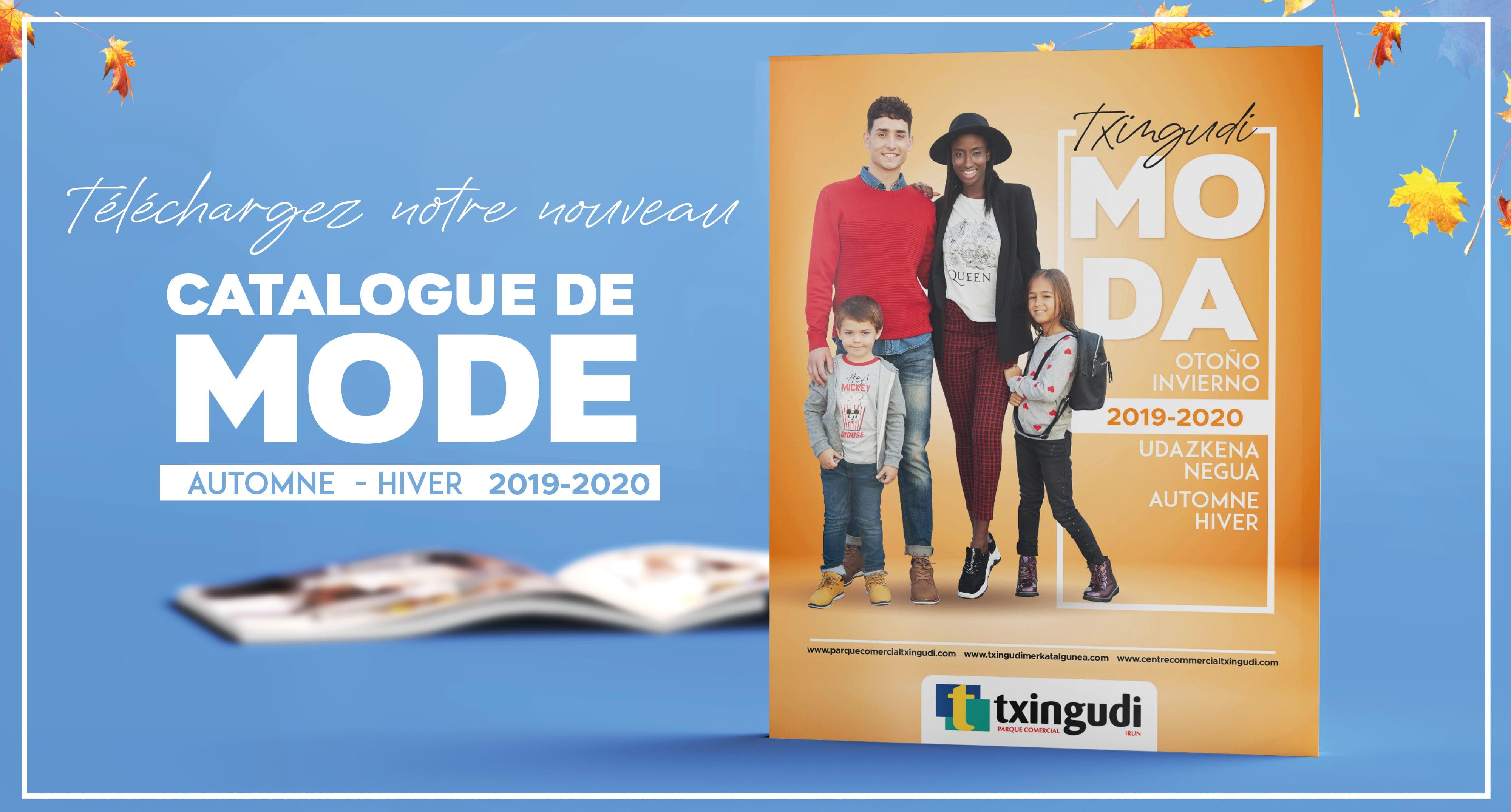 Vous pouvez consulter maintenant le catalogue de mode automne-hiver 2019/20 du centre commercial Txingudi !