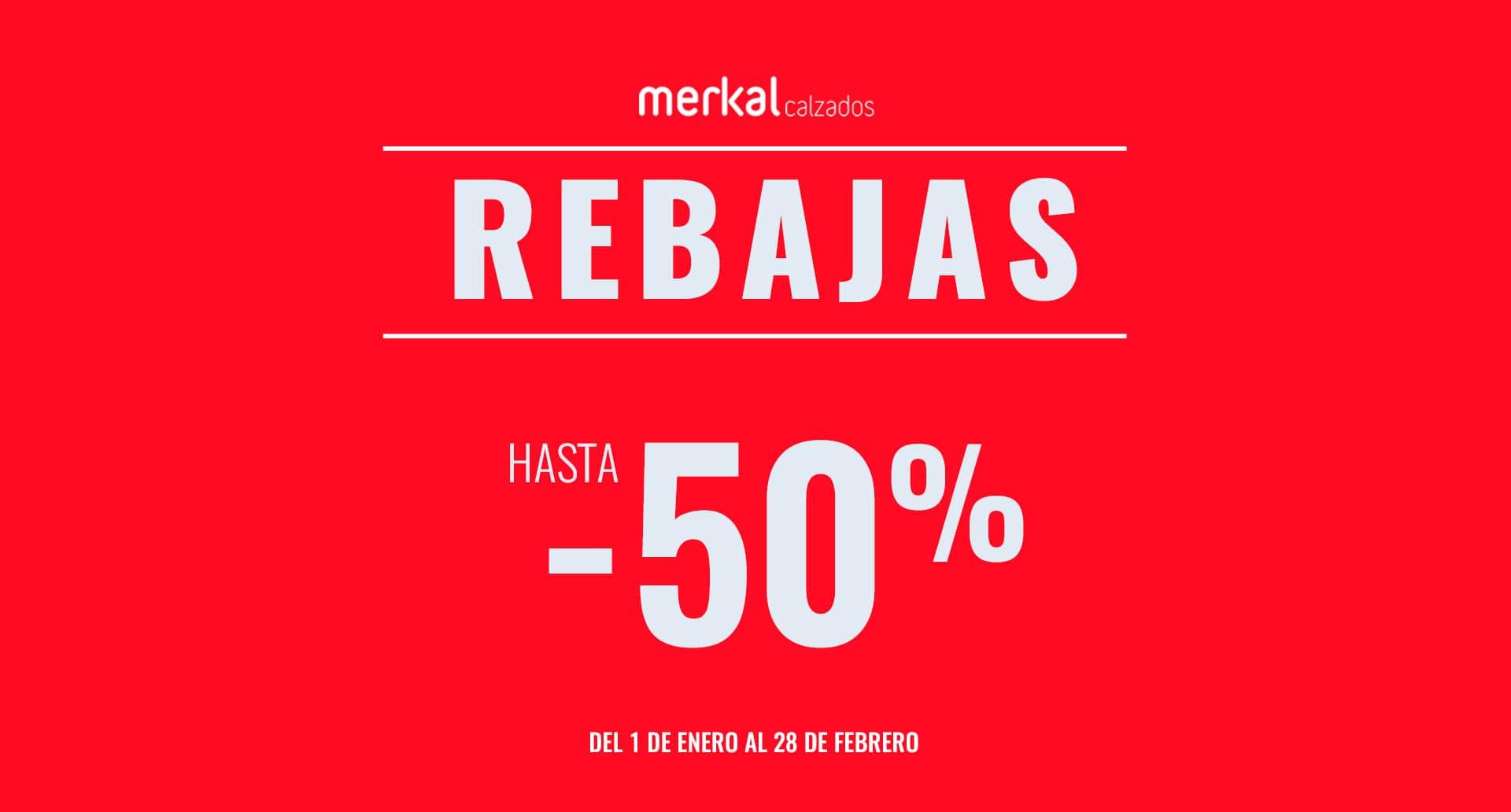 Soldes jusqu'a -50% á Merkal Calzados