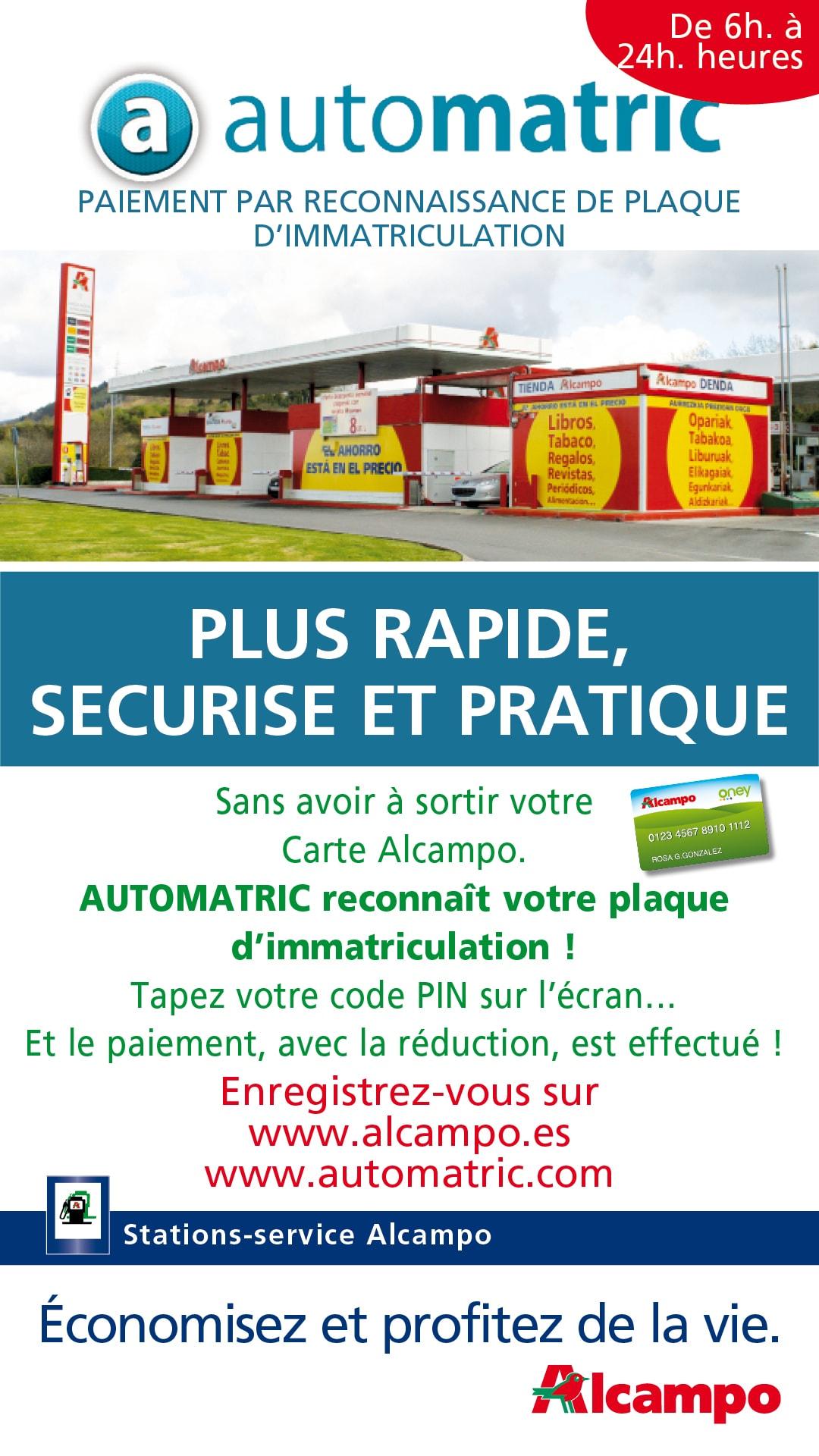Automatric Gasolinera Alcampo