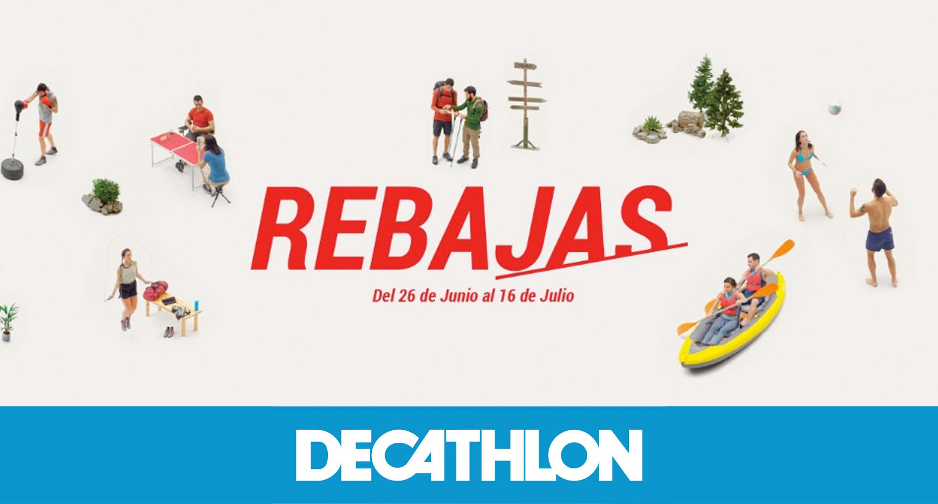 Rebajas Decathlon